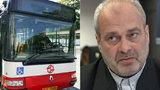 Odborářský předák Pomajbík o stávce autobusáků: Chceme mzdu, ne almužnu!