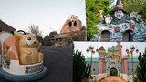 Japonský Disneyland skončil v troskách: Po uzavření ho pohltila vegetace