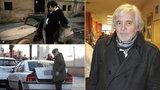 Filmový »vrchní« Josef Abrhám (77) porušil dopravní předpisy: Prchal jako ve filmu