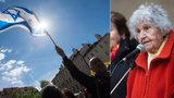 Jak se žilo v terezínském ghettu? Prahou prošel pochod za oběti holokaustu