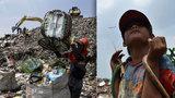 Život na hromadě odpadků: Obří skládka je domovem pro tisíce lidí, někteří se tu i narodili