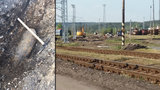 Pyrotechnici zasahovali na plzeňském nádraží: Našli zde 250kilovou bombu z války