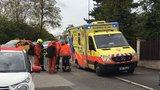 Chlapec (11) se zřítil v areálu bývalé teplárny ve Vokovicích: Pomoc zavolali kamarádi