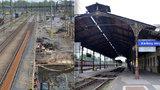Obnova nádraží v Karlových Varech: Památka z roku 1879 přežila bombardování, autogen už ne!