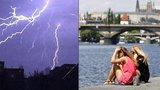 Tropy v Česku v úterý vystřídají bouřky a přijdou i kroupy. Sledujte radar