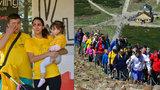 Charitativní pochod Na Sněžku: Vyšlapali milion pro malou Pavlínku, které vzal meningokok nožičku!