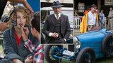 Natáčení seriálu První republika: Fialová s Polívkou v zajetí historických aut
