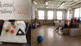 Rozjedené oříšky a nedopité kafe: V opuštěné holešovické školce stojí 10 let čas