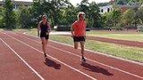 Místo škváry tartan. Atletický klub v Libni má novou běžeckou dráhu