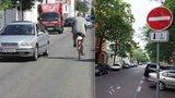 Cyklisté v Karlíně se bouří proti omezování. Auto*Mat podal žalobu na Prahu 8