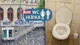 """Luxusní WC posezení """"pod Národním divadlem"""". Vstupné je dobrovolné"""