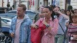 Jakub Prachař nedá ve Varech těhotné ženě vydechnout! Agáta zvládla maratón