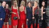 Slavní na luxusní party ve Varech: Kaira Hrachovcová se na červeném koberci ztratila!