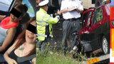 Prokletá silnice: Po dvou dívkách z šíleného videa bouralo další auto