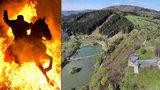Tajemný hrad Brumov: Pozor na ohnivé koně!