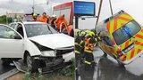 Jízda »na majáky« po Praze: Nezkušení řidiči je zapnou a pak zbytečně bourají