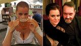 Hříšná Ornella zkouší, co Kokta i knoflíčky vydrží: Vražedný dekolt a lačné polykání vychlazeného piva