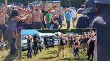 Tisíce technařů z celé Evropy se sjely na Nymbursko: Policie neví co s nelegální technoparty