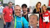 Brno, slavných všude plno: Velká cena motorek se stala přehlídkou smetánky