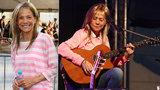 Lenka Filipová po těžké nemoci opět na pódiu: Pohublá, ale šťastná