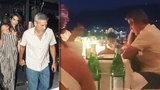 Clooneymu (56) dávají dvojčata zabrat! Mistr světa v zívání