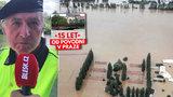 Strážník vzpomínal na povodně v Praze: Sloužili jsme 12 hodin denně 14 dní v kuse