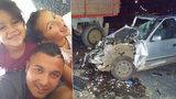 Zraněná Klaudinka (4) po srážce s traktorem: Po vážném poranění mozku už mluví a poznává rodinu