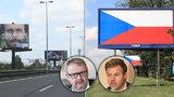 Válka o billboardy u dálnic. Majitelé: Je to znárodnění! Ťok: Zbouráme je
