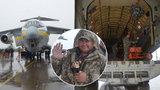 V Hradci Králové dnes začíná letecká přehlídka: Přiletěl ukrajinský obr!