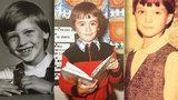 Zpátky do minulosti: Jak vypadali slavní jako prvňáčci? Poznáte je?