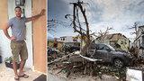 Irma pustoší Floridu: Mladí Češi zachránili před hurikánem bezdomovce
