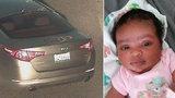 Matka si odskočila pro jídlo, půlroční dceru nechala v autě: Zloděj ho i s dítětem ukradl!