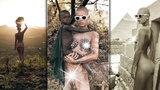 Modelka (25), která skončila v egyptské base, opět provokuje: Další nahé fotky v Africe!