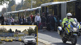 Stávka taxikářů v číslech: Stovky řidičů, desítky pokut, šest hodin jízdy a jedno zatčení