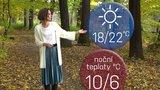 Počasí s Honsovou: O víkendu to bude na tričko, naměříme až 22 °C