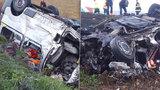 Přes deset dětí přišlo o matky! Při srážce s českým kamionem zemřelo šest ošetřovatelek a řidič