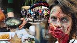 22 tipů na víkend: Prahou poběží zombie! Mlsat můžete polévky, dýně i čokoládu