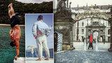 Sexy doktor (28) cestuje po světě a zážitky z cest sdílí na internetu: Své vypracované tělo ukázal i v Praze
