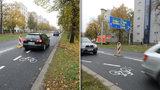 Cyklopruh v Patočkově ulici omezuje plynulost dopravy, uznal magistrát. Nechá ho odstranit