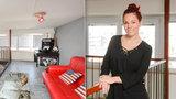 Na návštěvě u královny muzikálu: Míša Nosková má balkon uvnitř bytu!
