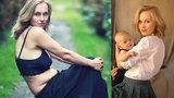 Svátková fotkou s povislým bříškem burcuje všechny ženy: Buďte samy sebou!