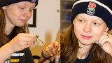 Dcera Asterové vyrazila po svatbě mezi lidi: Ukázala prsten i tvář bez make-upu