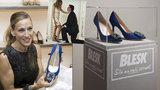 AUKCE: Vydražte kultovní boty od Manola Blahnika