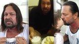 S rakovinou bojující Pomeje zahájil hladovku hostinou! Dcera (4) řekla sprostě svůj názor
