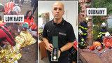 Třikrát nasadil svůj život, aby zachránil cizí: Hasič David Štoudek dostal medaili Za statečnost