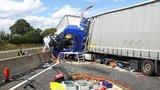 Český řidič kamionu narazil v Německu plnou rychlostí do karavanu. Soud: Za smrt rodiny nemohl