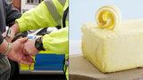 Velká máslová loupež v Lidlu: Za 10 kostek až 3 roky vězení!
