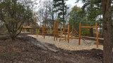 Pitkovický park zpřístupnili veřejnosti. Slavnostní otevření zkomplikoval orkán Herwart