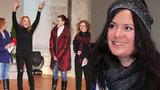 Slavné ženy na mikulášské: Pohublá Havlová, Čvančarová s oparem a Zázvůrková bez hlasu