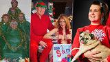 Šťastné a vysmáté: 50 nejzábavnějších i nejtrapnějších svátečních fotek